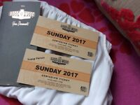 Goodwood Revival tickets 10th Sept 1. Adult 1 young person 13-21yrs