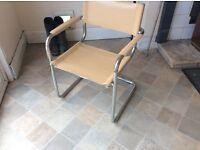Cream chair - john lewis