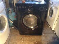 Washing machine,black,£75.00