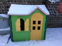 Little tikes country cottage. Red/yellow/green