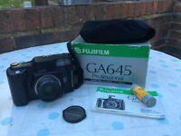 Fujifilm GA645 film camera