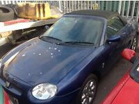 Mgf 1800 Vvc no mot and engine knocking