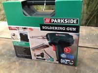 Parkside Soldering Gun - As new, still in box, unopened
