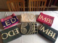 Wimbledon Tennis Championship Towels Mens & Womens SIX