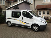 Renault Trafic Campervan with Reimo Conversion