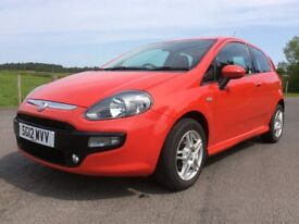 STUNNING 2012 Fiat Punto EVO. MOT May-19, Only 49k miles, Full Service History, Part Exchange Cons