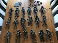 """Collectible 8"""" predator figures"""