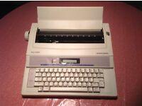 New Silver Reed Electronic Typewriter