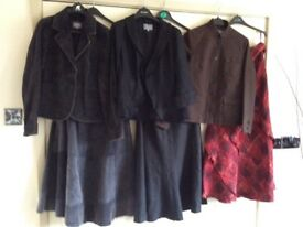 23 items of women's clothing all size 10/12 jackets skirts trousers tops all in very goodcondition
