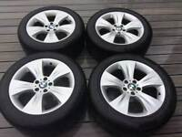 "BMW X6 X5 19"" star spoke alloy wheels"