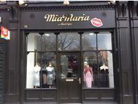 City women's clothing boutique for sale