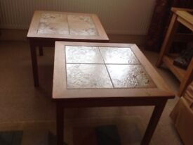 Side Tables X 2