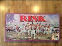 Risk board game, Belmont area