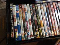 Joblot of mixed dvds