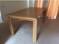 Large M&S Sonoma dining table - 7 months old