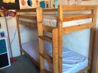 Children's Wooden Bunk Bed