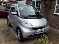 Silver Smart for two in very good condition. Low mileage