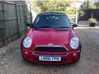 Mini One convertible 2006