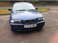 BMW 320i SE touring estate 2001 for sale