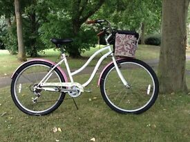 Ladies town bike/Beach cruiser 1950s style