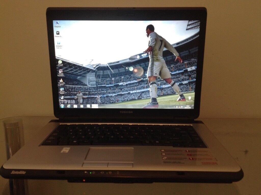218bdf494188 Toshiba Satellite 15.4-inch Laptop (Intel Celeron T1600, 3 GB RAM, 160GB  HDD, DVD DRIVE, WEBCAM, Wfi | in Walsall, West Midlands | Gumtree