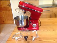 Morphy Richards Stand Mixer with beater,dough hook,whisk.