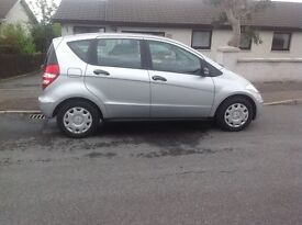 Mercedes A150, 2008. Very low mileage. Excellent Condition.