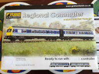 N gauge commuter train