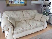 Luxury cream sofa