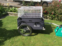 Raleigh Mule Flat Bed Bicycle Trailer