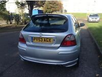 MG ZR AUTOMATIC FIVE DOOR HATCHBACK