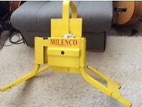 Caravan wheel clamp, milenco