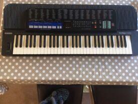 Electric Casio keyboard