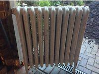Cast-iron church radiators