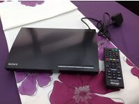 Sony BDP- S185 Blu Ray Player Boxed Little Used Great Condition