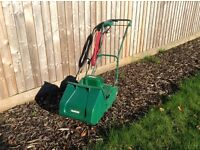 Qualcast electric lawn mower