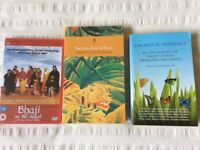 AA100 Open University course set books: Faber Book of Beasts, A World of Difference & unopened DVD
