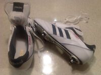 Adidas kaiser boots BRAND NEW UNWANTED GIFT 10.5 soft ground, studs