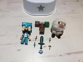 Minecraft toys bundle