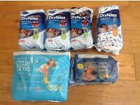 Bundle of Assorted Nappies/Swim Nappies/Pyjama Pants