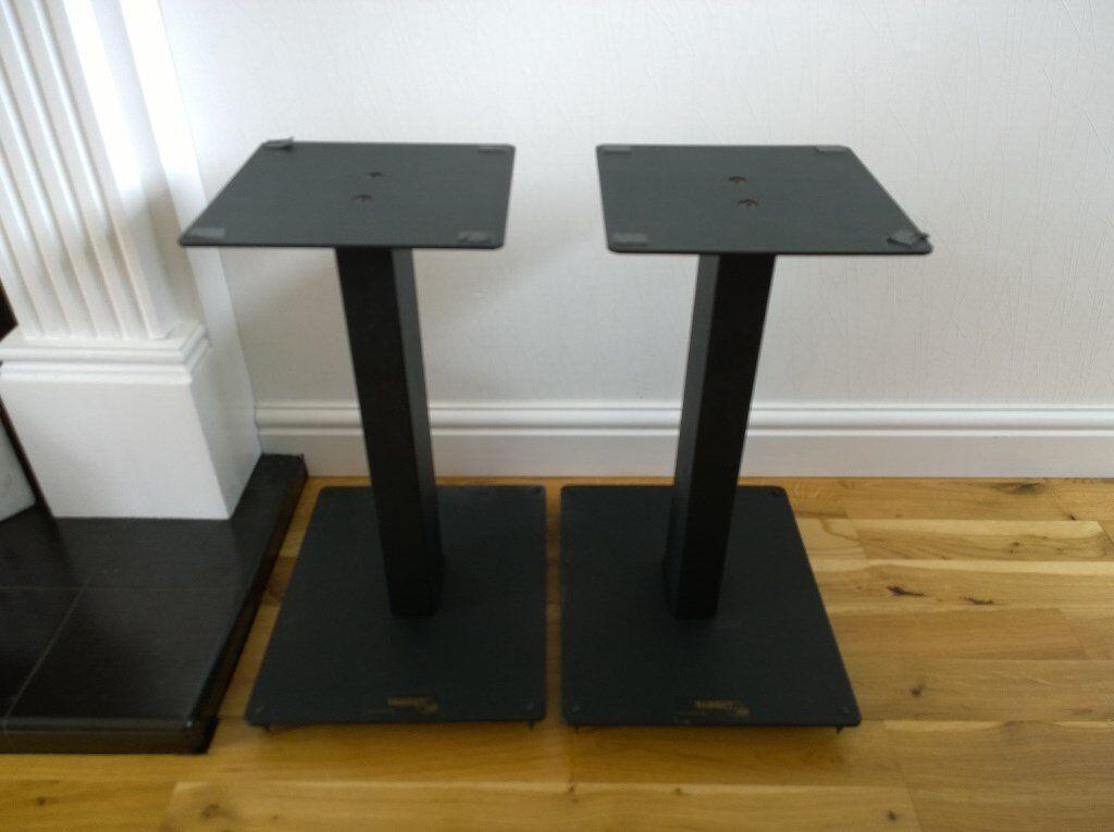 target audio products speaker stands x2 black in cumbernauld glasgow gumtree. Black Bedroom Furniture Sets. Home Design Ideas