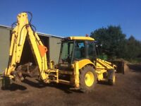 New Holland LB110 digger 2005