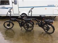 **2 ** eco power assisted adults bikes