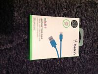 BELKIN 1.2 (4ft) charging cable