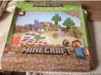 MINECRAFT PAPER CRAFT OVERWORLD DELUXE PACK EASY TO BUILD