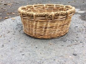 Log baskets 2 different styles