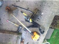 McCulloch strimmer, hedge trimmer & tilling attachment