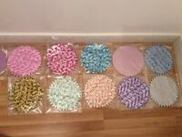 Assorted colours Wedding favours nets