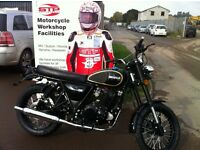 Black Herald Classic 250cc Great twin shock roadster Usually £2,750 for October ONLY £2,310 + OTR