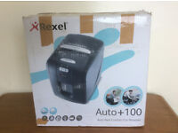 Rexel Auto+100 Shredder, 100 Sheet Automatic Feed - RRP £190, Faulty